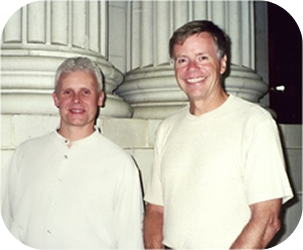 Dr. Brian Abelson and Dr. Michael Leahy