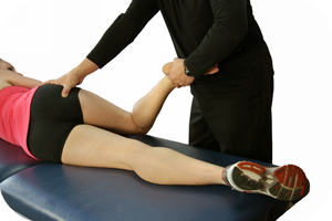 Dr. Abelson Presforming ART Treatment for Sciatica